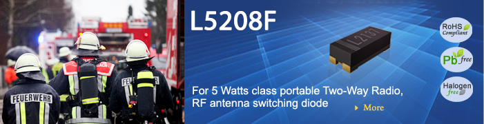 PIN Diode L5208f For 5 Watts class portable Two-Way Radio,